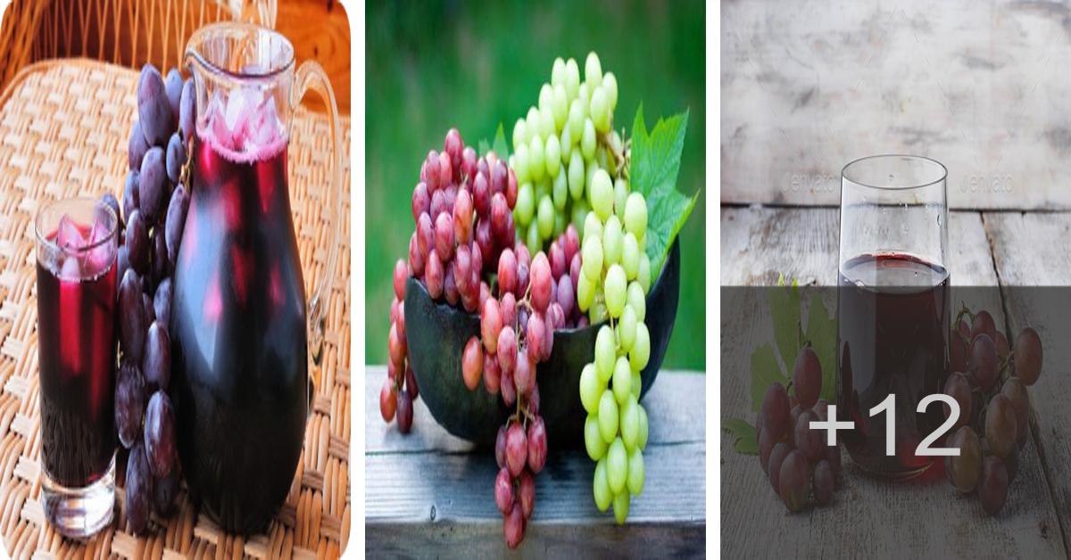 Cómo preparar jugo de uva para adelgazar