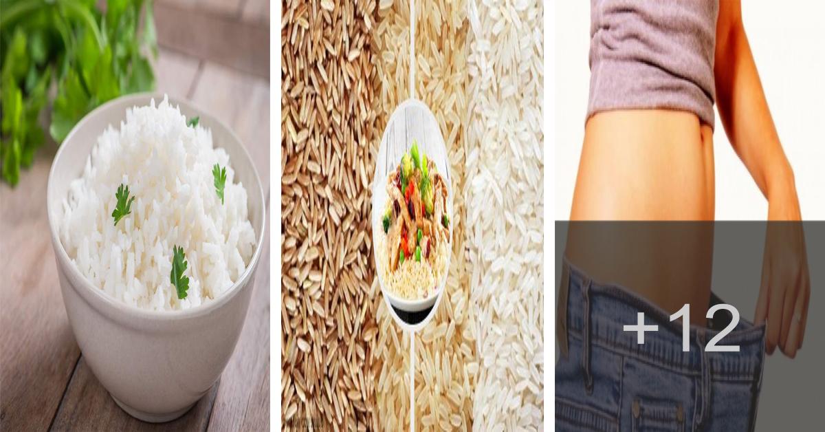 Aprende como adelgazar comiendo arroz